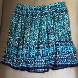 Multi Colored Summer Skirt